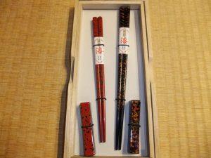津軽塗箸置セット